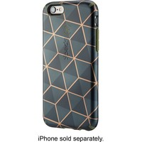 Speck - Luxury Inked Case for Apple® iPhone® 6 and 6s - Black/Orange