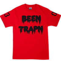 Tees - Graphic - Grand Hustle Gang Been Trapn Tee - Red Black - DTLR - Down Town Locker Room. Your Fashion, Your Lifestyle!