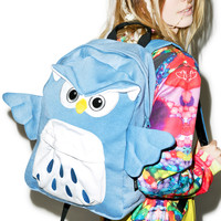 Sazac Owl Backpack Blue One
