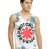 Red Hot Chili Peppers Tie Dye Logo Tank Top
