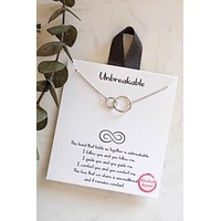 Unbreakable Necklace- Silver