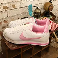 Nike Classic Cortez Leather Women's Low-Top All-match Sneakers Shoes