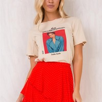 Red Mind Flux Mini Skirt