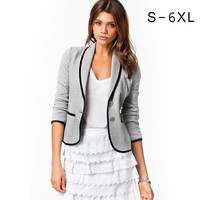 New Women Office Work Wear Clothes Casual Women Spring Jackets Tops chaqueta mujer oficina jaqueta feminina bomber jacket