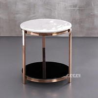 Precious Marble Small Side Coffee Table