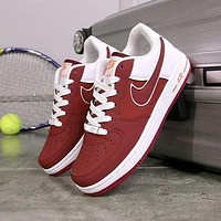 NIKE Air Force 1 breathable fashion shock absorber tide brand sports shoes F