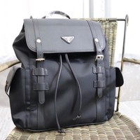hcxx 1832 Prada Large space multi-pattern backpack