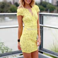 MONACO LACE DRESS , DRESSES, TOPS, BOTTOMS, JACKETS & JUMPERS, ACCESSORIES, SALE 50% OFF , PRE ORDER, NEW ARRIVALS, PLAYSUIT, GIFT VOUCHER, Australia, Queensland, Brisbane