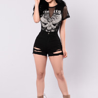 Rock The Beat Bodysuit - Black