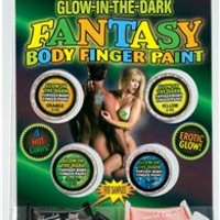 Glow In The Dark Body Finger Paints