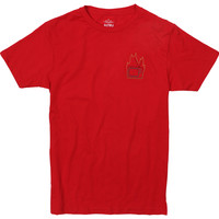 Burn Your TV embroidered T-Shirt by Altru Apparel