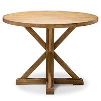 Farmhouse Round Dining Table