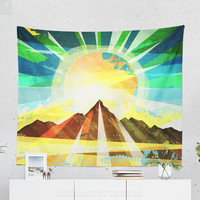 Colorful Wall Tapestry With Positive Energy Artwork, Wanderlust Art, Nature, Large Wall Art, Home Decor, Wall Decor, Dorm Decor, Free Spirit