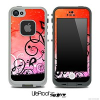 Artistic Faded Sunrise Skin for the iPhone 5 or 4/4s LifeProof Case