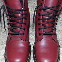 Dr. Martens. Cherry red size 5 from higherlovee