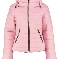 Quilted Jacket | Boohoo