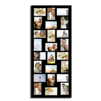 AdecoTrading 24 Opening Wood Wall Hanging Picture Frame