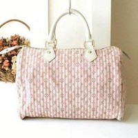 Tagre™ ONETOW Louis Vuitton Bag Croisette Pink Speedy 30 Authentic Vintage Handbag