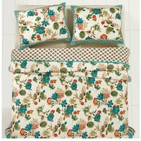 Veronica Floral Bedding Quilt Set