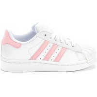 adidas G09867 Superstar 2 Preschool (White/Pink) at Shoe Palace