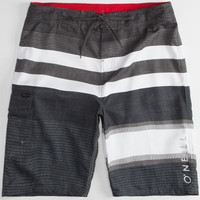 O'neill Lennox Mens Boardshorts Charcoal  In Sizes