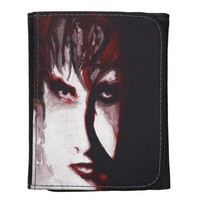 Gothic God Post Punk Goth Original Art Wallet