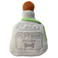 Puptron Tequila Toy, Tequila Bottle Dog Toy, Muttini Bar Dog Toy, Designer Dog Toy, Haute Diggity Dog Toy