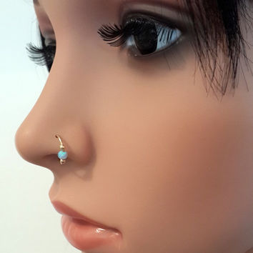 Best Small Silver Nose Rings Products On Wanelo