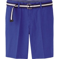 MEN BELTED SHORTS(PRINTED) | UNIQLO