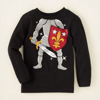 baby boy - graphic tees - knight graphic tee   Children's Clothing   Kids Clothes   The Children's Place