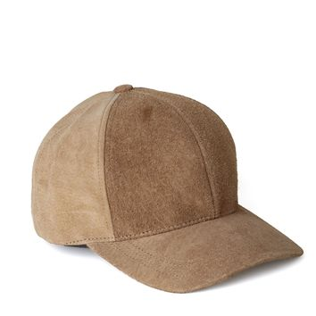 Natural Suede And Chill Baseball Cap