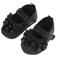 Baby Girls Shoes Toddler St Bottom Buckle Strap Girl Shoes First Walkers Prewalkers St Sole Kids Toddler Shoes