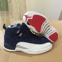 "Air Jordan 12 ""International Flight""  Retro AJ12 Sneakers - Best Deal Online"