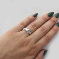 Hereafter Ring Silver