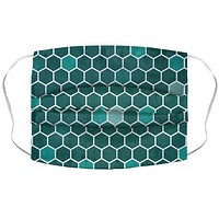 Hexagon Pattern Face Mask Cover
