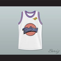 Michael Jordan 23 Tune Squad Basketball Jersey Includes Space Jam Patch