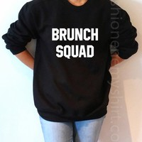 Brunch Squad - Unisex Sweatshirt for Women - shpfy
