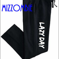 LAZY day SWEATPANTS women ladies teen gym, workout, lounging pants