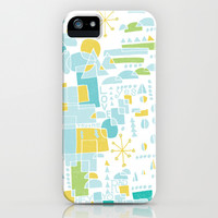 ABSTRACT LANDSCAPE iPhone & iPod Case by Matthew Taylor Wilson