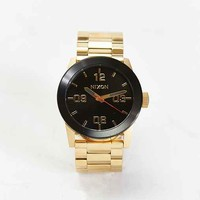 Nixon Private SS Gold Black Watch- Gold One
