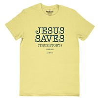 Cherished Girl Grace & Truth Jesus Saves True Story Girlie Christian Bright T Shirt