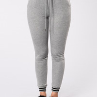 Slow It Down Joggers - Charcoal