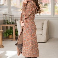 Gardens And Good Times Knit Cardigan (Pink/Multi)