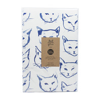Indigo Cats Gift Wrap
