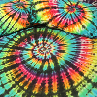 Tie Dye Sheet Set 100% Cotton