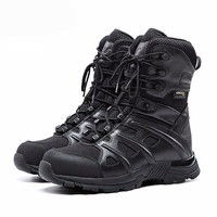 Outdoor Men's Leather Tactical Boots