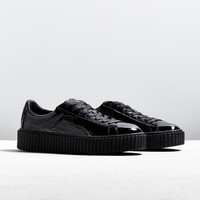 Puma Fenty By Rihanna Cracked Leather Creeper Sneaker | Urban Outfitters