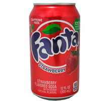 Fanta Strawberry Soda Can Stash Safe