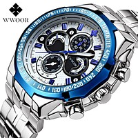 Top Brand Luxury Men Watches 30m Waterproof Japan Quartz Sports Watch Men Stainless Steel Clock Male Casual Military Wrist Watch