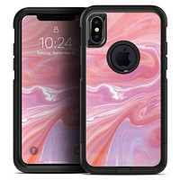 Marbleized Pink Paradise - Skin Kit for the iPhone OtterBox Cases
